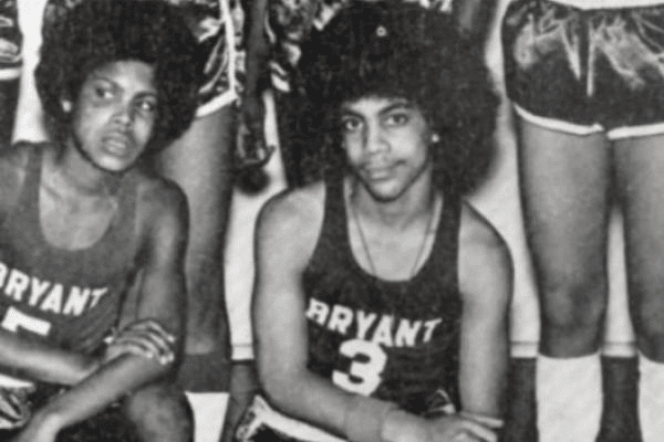 Prince basketball school photo young