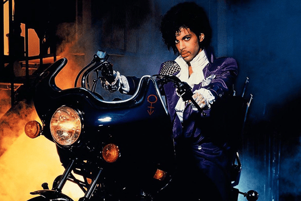 Prince Motorcycle Purple Rain