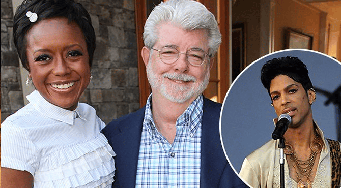 Prince and george lucas