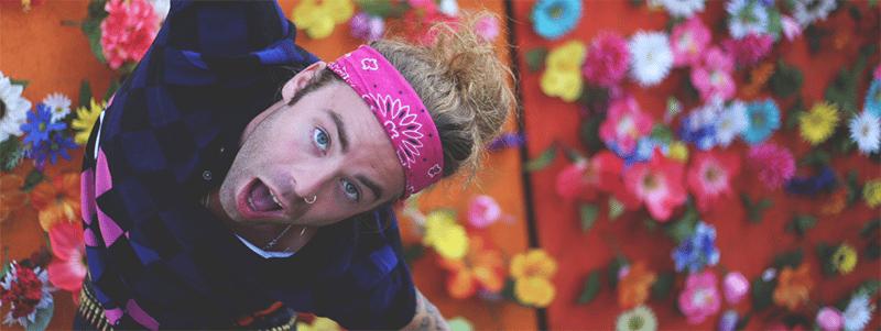 Mod Sun Flowers Hippy