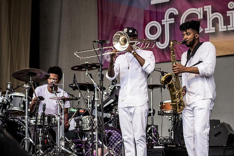 Donnie Trumpet Live