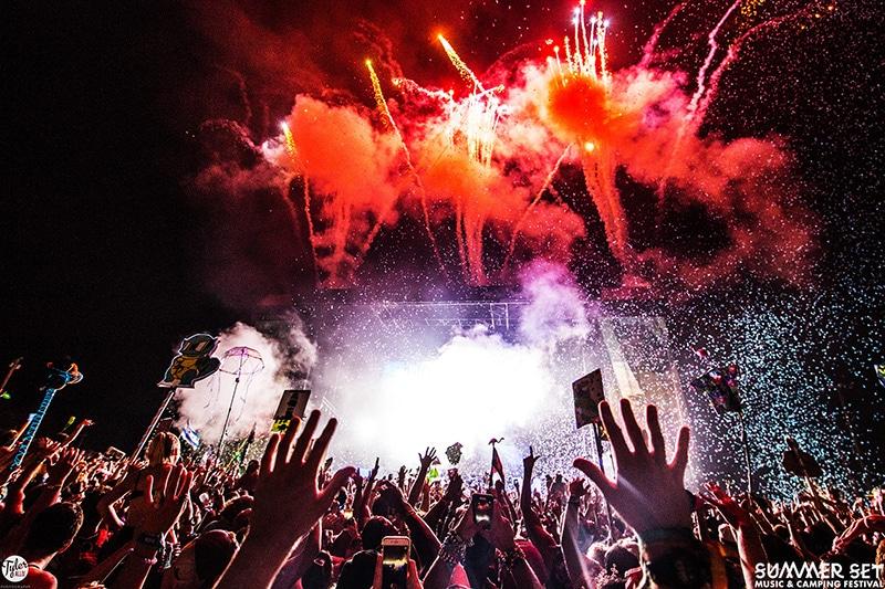 Skrillex Summer Set Music Festival 2017