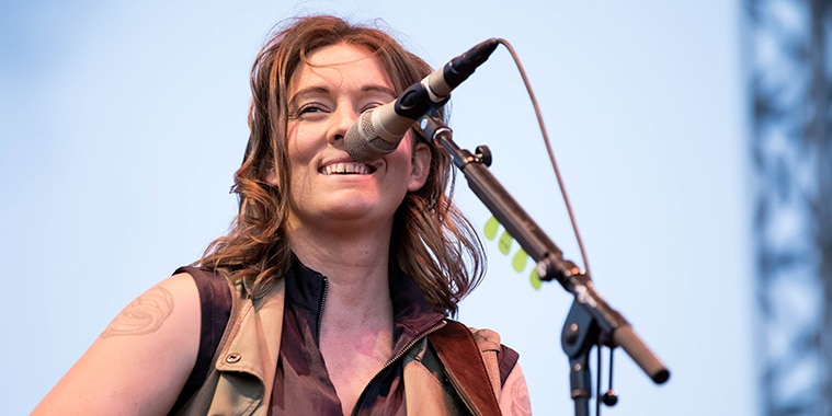 Brandi Carlile at Basilica Block Party