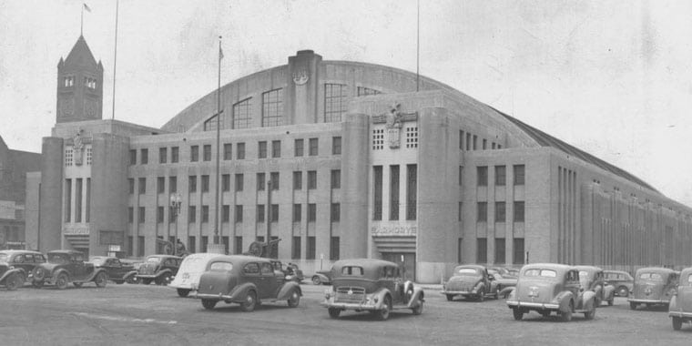 The Armory Old Building Minneapolis 1930