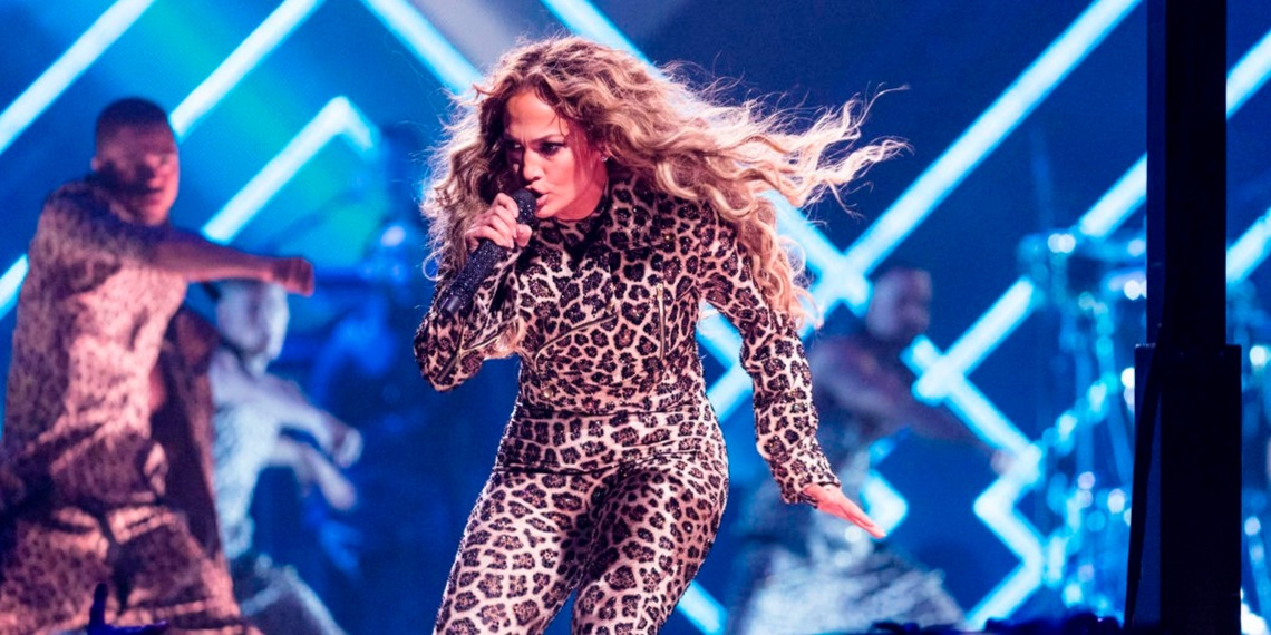 Jennifer Lopez 2018 Minneapolis MN Armory Super Bowl Feb 4