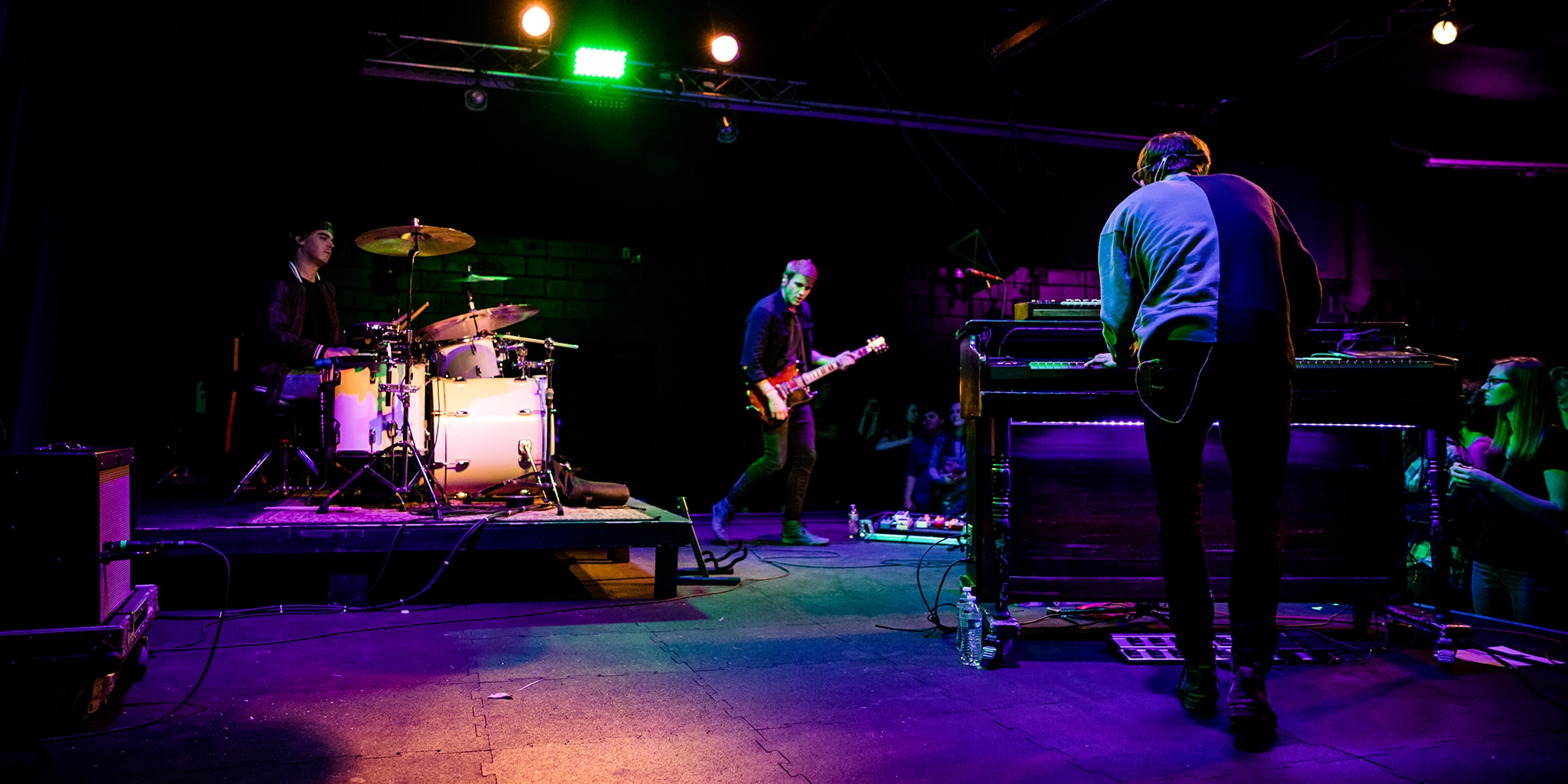 Vinyl Theatre, The Garage, Keegan Calmes, Chris Senner, Nick Cesarz