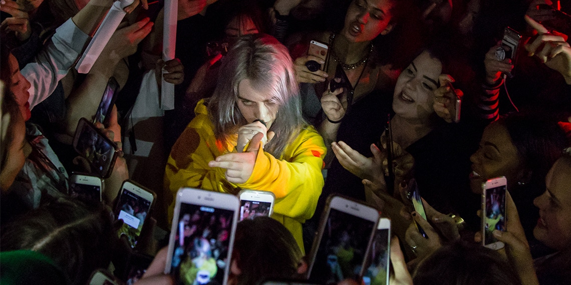 Billie Eilish Serenades Sold Out 7th St  Entry