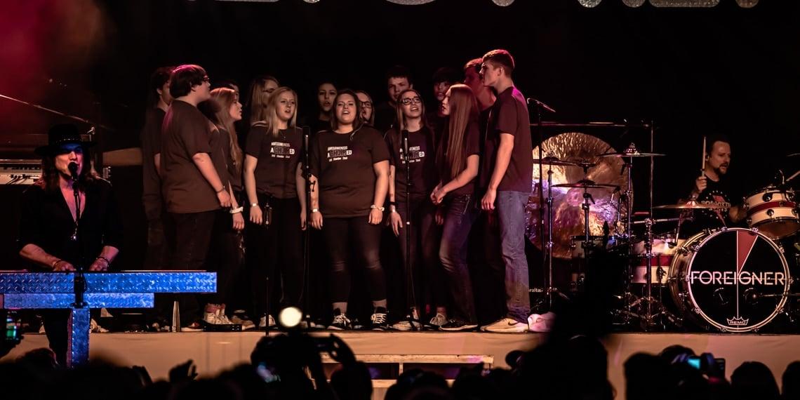 Goodhue Public School Chamber Choir, Foreigner, Treasure Island