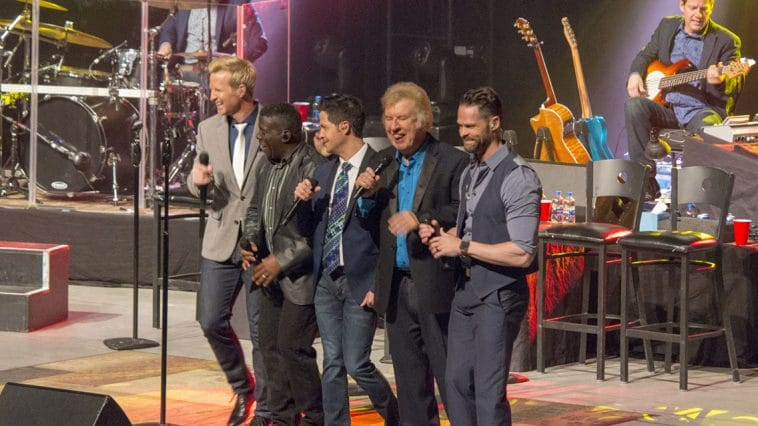 Gaither Vocal Band shares their signature sound with Rochester, Minnesota crowd accompanied guitarist Kevin Williams and drummer Greg Ritchie