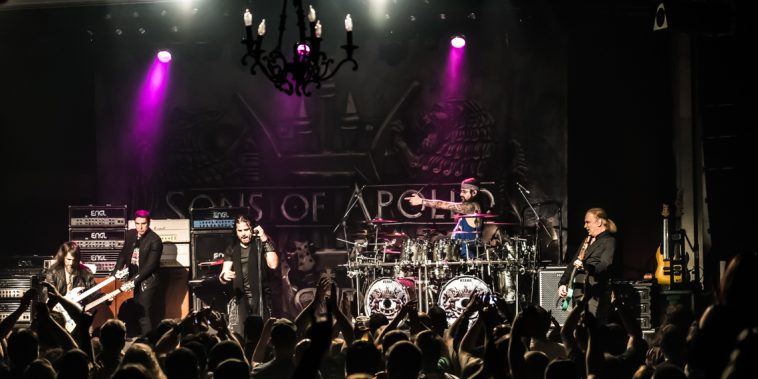 Sons Of Apollo, SOA, Rock, Progressive Rock, Portnoy, Sheehan,Sherinian, Bumblefoot, Soto, Concert Review, Minneapolis, Varsity Theater