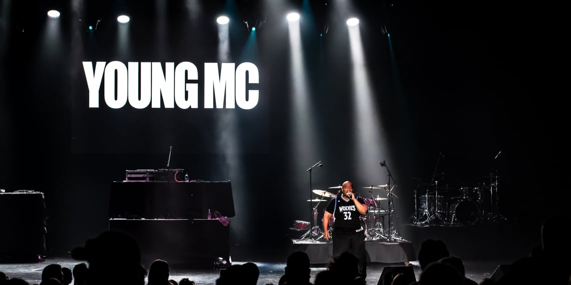 Young MC I Love the 90s Tour Mystic Lake May 18 2018
