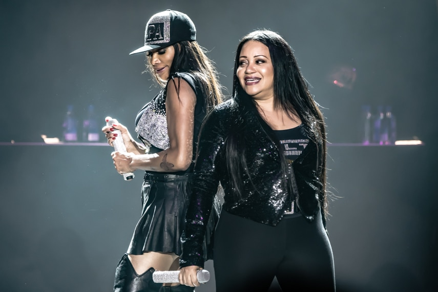Salt-N-Pepa I Love the 90's Tour Mystic Lake May 18 2018