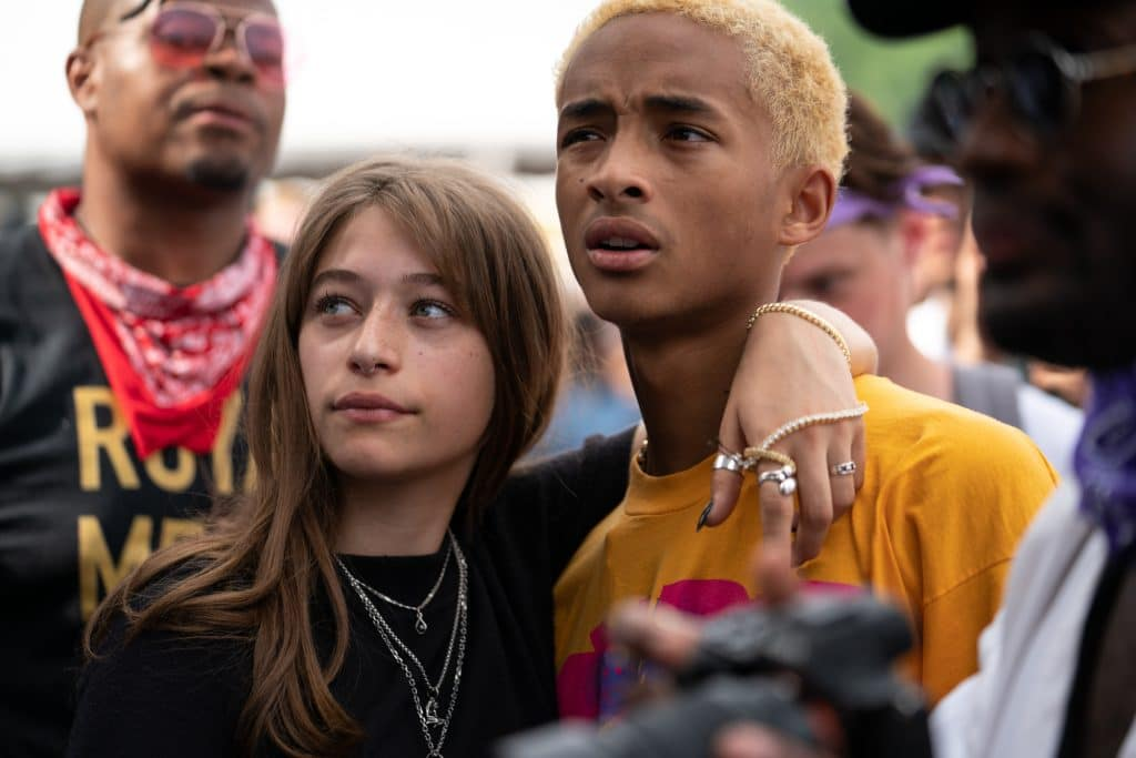 Jaden Smith & Odessa Aldon - Photo by Chris Taylor
