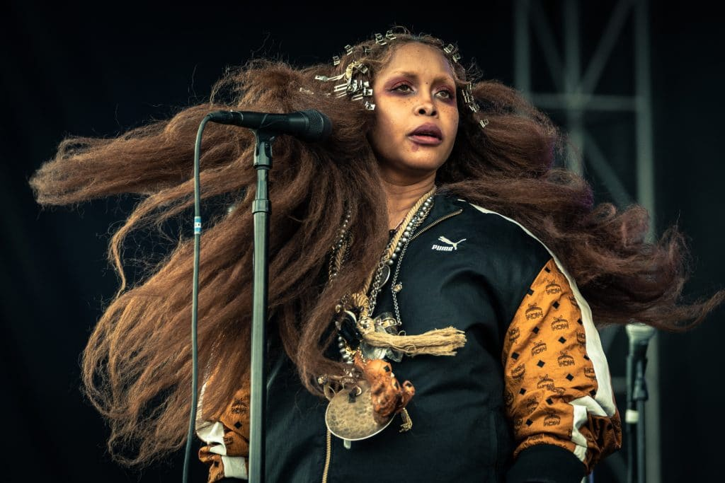 Erykah Badu - Photo by Chris Taylor