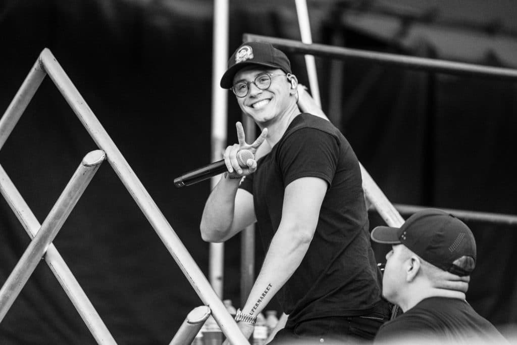 Logic - Photo by Chris Taylor