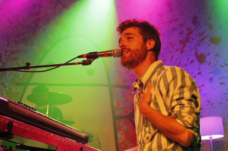 Ben Thornewill of Jukebox the Ghost at Varsity Theater in Minneapolis, Minnesota