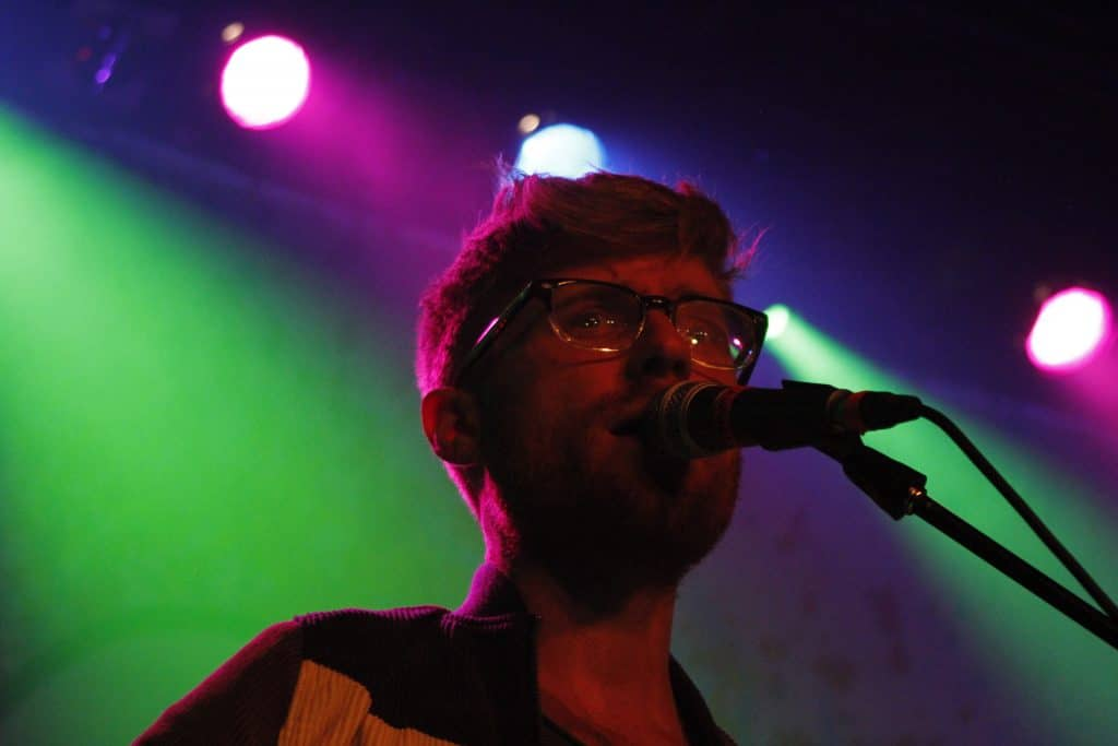 Tommy Siegel of Jukebox the Ghost at Varsity Theater in Minneapolis, Minnesota