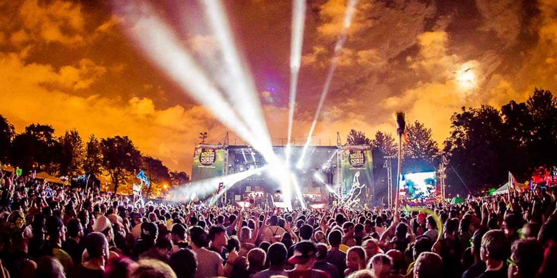 North coast Music Festival 2018 Crowd Live Music