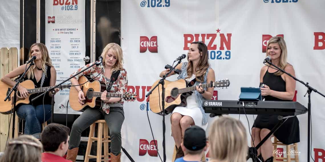 Women Of Country, Buz'n, Erica Hanson, Dayna Koehn, Karina Kern, Swanny Rose, Country, Country Music
