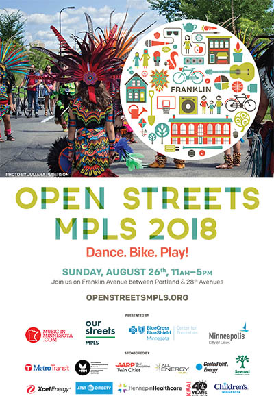 Open Streets Franklin 2018 Poster