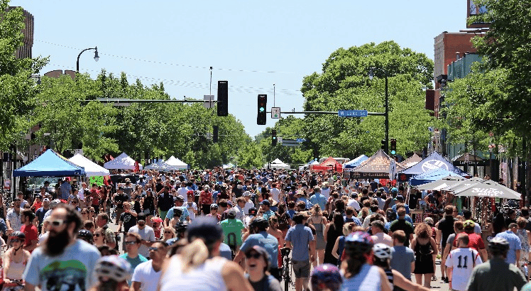 Open Streets Image MN Mpls 2018