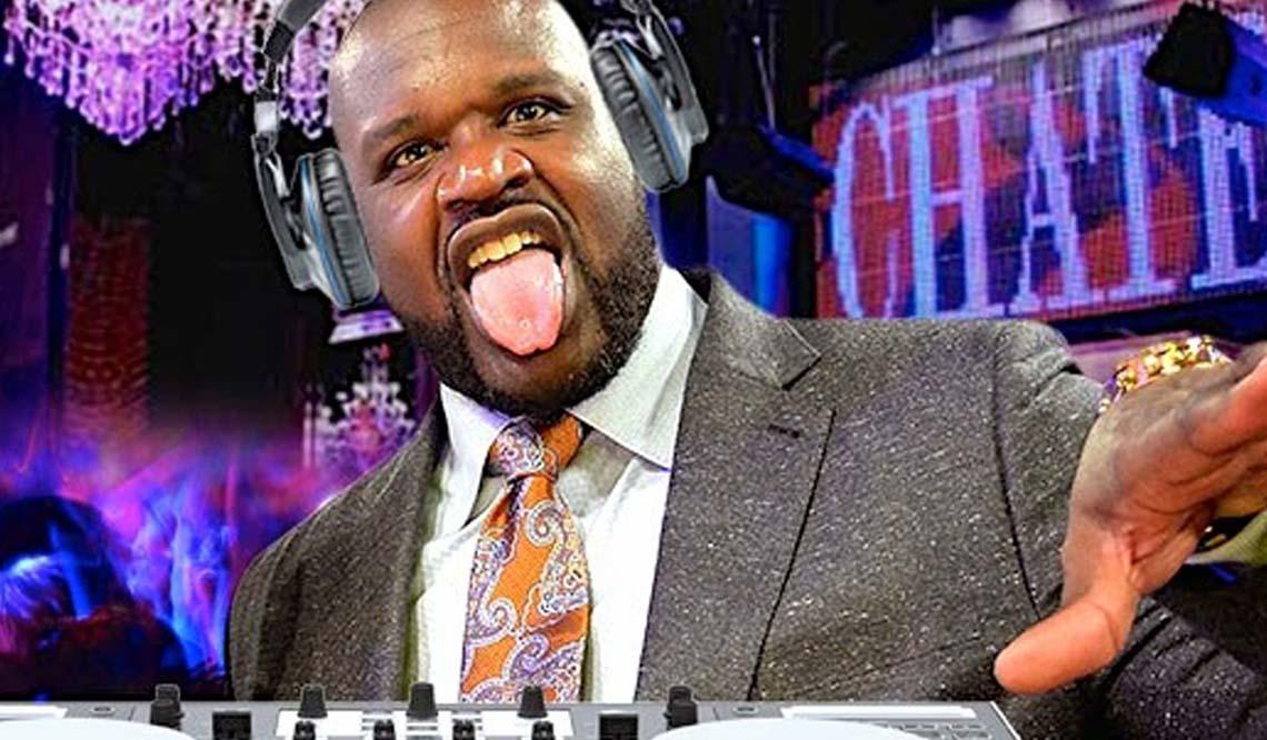 Shaquille O'Neal Zombie Pub Crawl DJ Diesel 2018