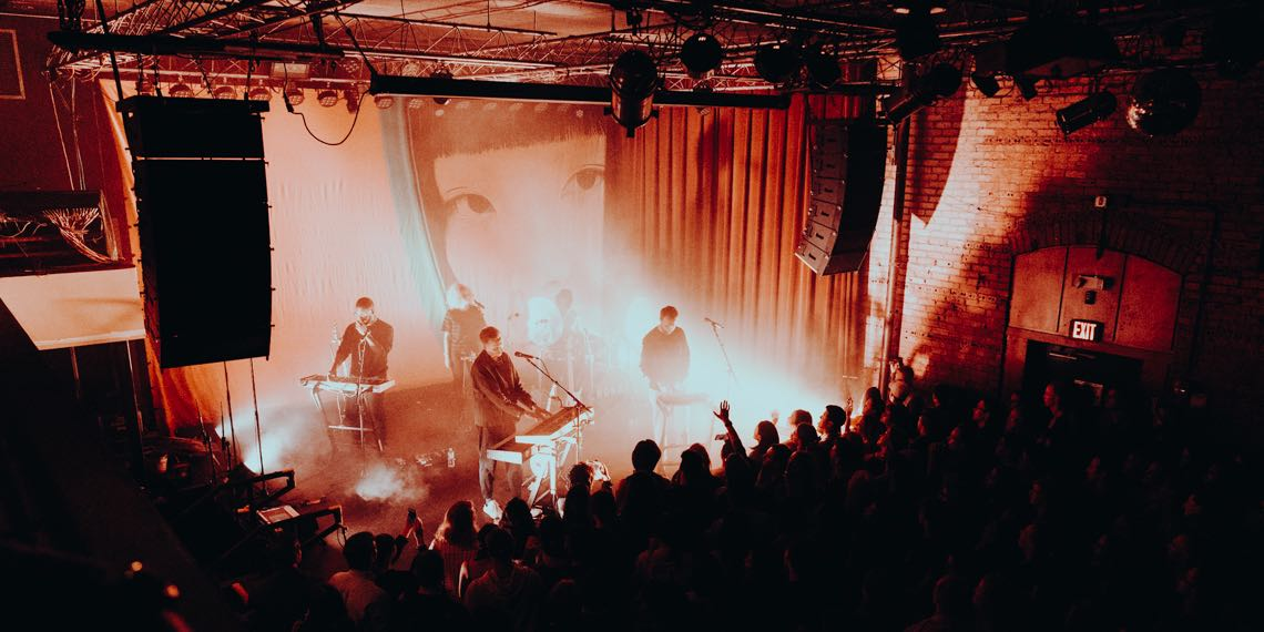 HONNE Performing Live at Fine Line