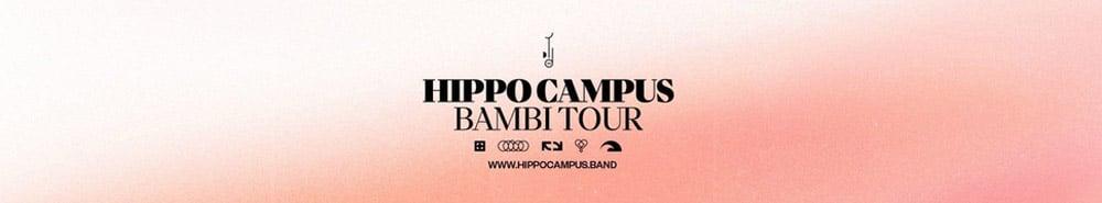 Hippo Campus Bambi Tour