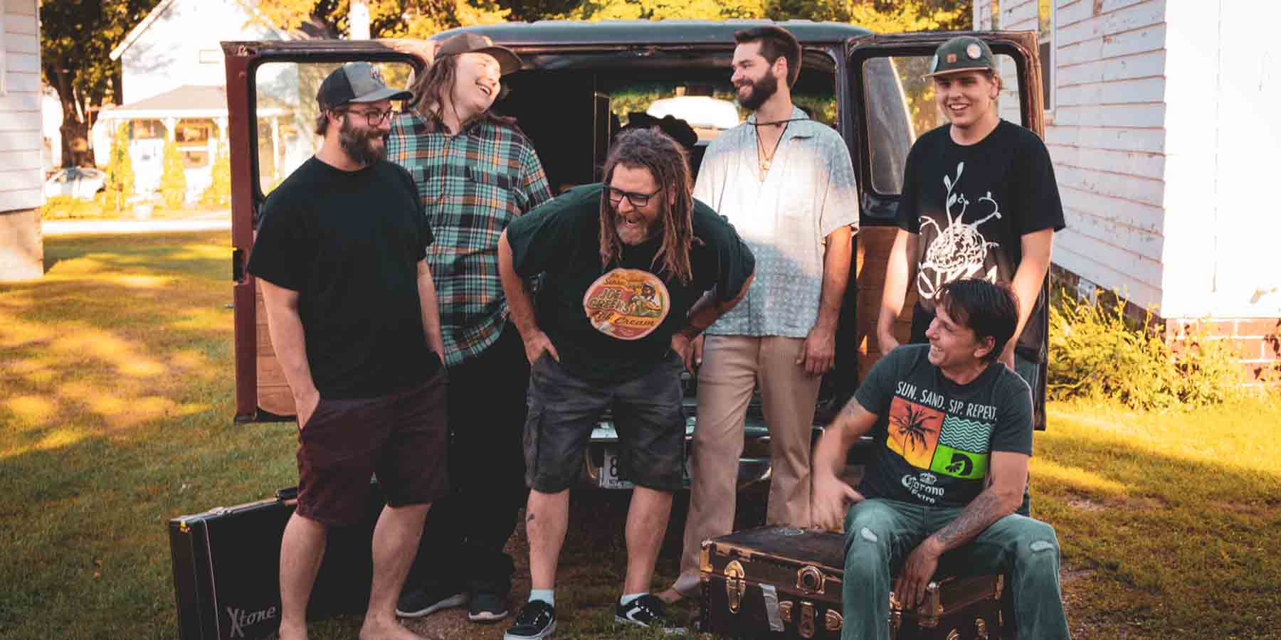 NUG Reggae Minnesota Band Jason Tucker Mack Buchan Connor Cregeen Bob Adam Smith