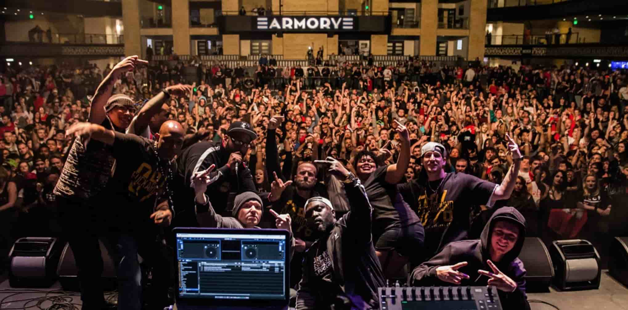 Nofuxaroundgang NFG Minneapolis Live performance armory rap