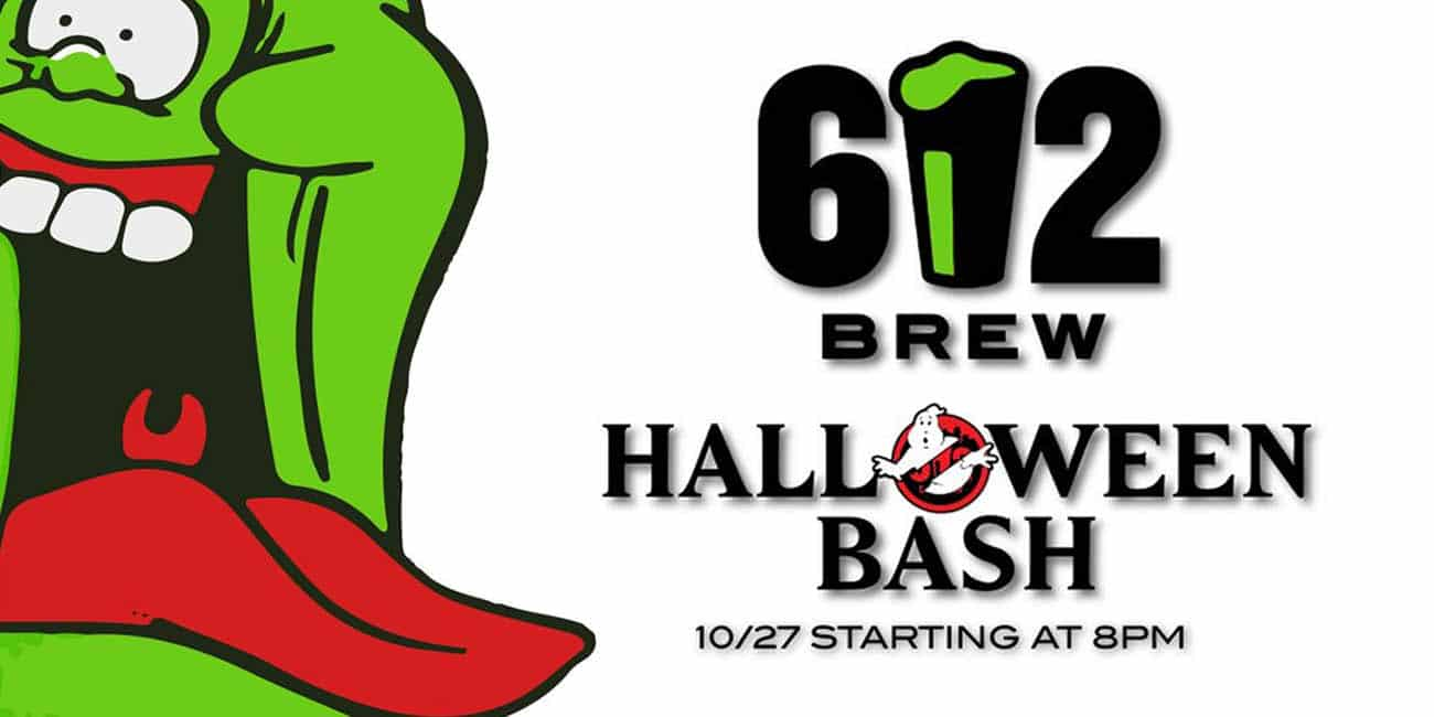 612 Brew Halloween Contest Free Beer Year Prize