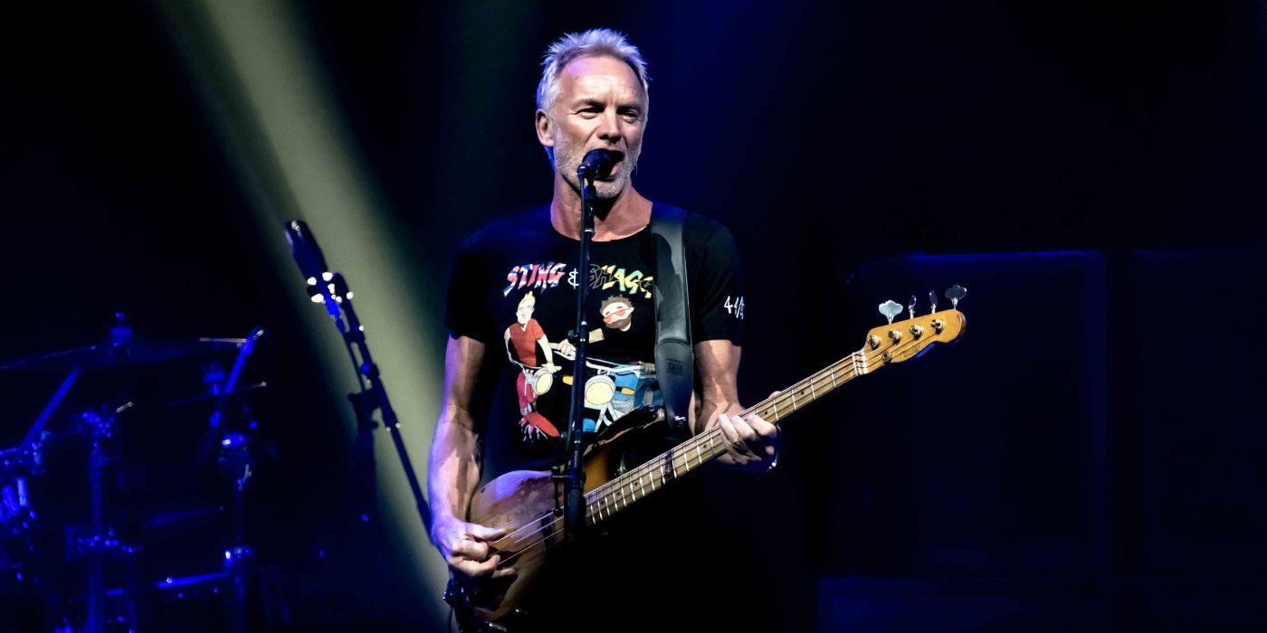 Sting Shaggy The Armory Minneapolis September 30th 44/876 Tour