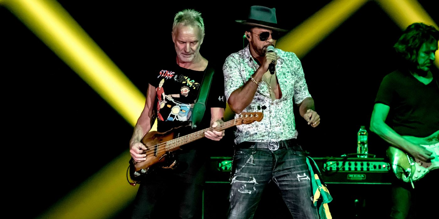 Sting Shaggy The Armory Minneapolis September 30th 44/876 Tour