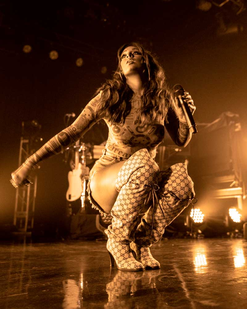 Alina Baraz at First Avenue October 2nd Urban Flora The Color of You Minneapolis Minnesota Fantasy Electric - Photo by Chris Taylor