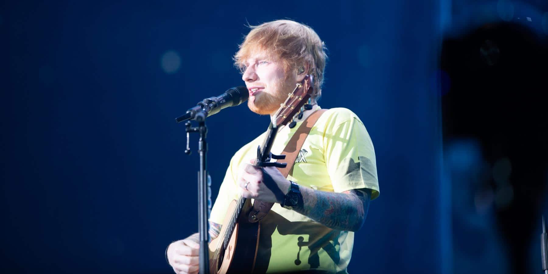 Ed Sheeran North American Stadium Tour 2018 - U.S. Bank Stadium Minneapolis Minnesota - October 20th 2018 - Snow Patrol Lauv