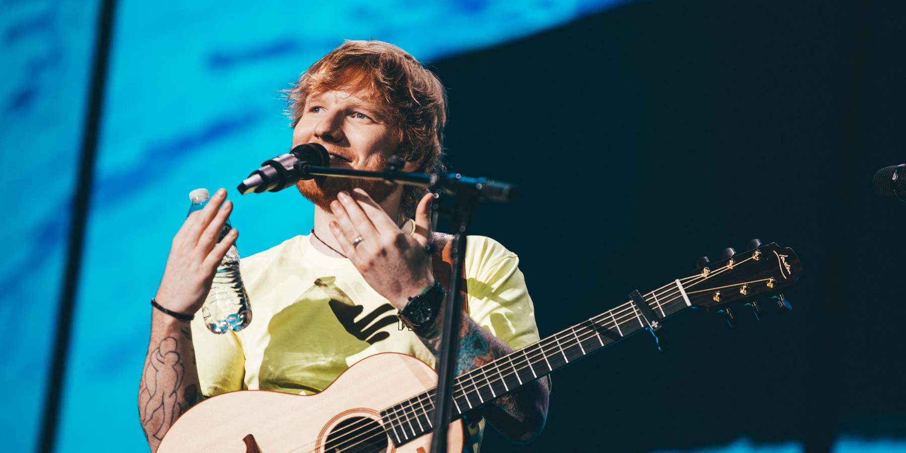 Ed Sheeran North American Stadium Tour 2018 - U.S. Bank Stadium Minneapolis Minnesota - October 20th 2018 - Snow Patrol Lauv