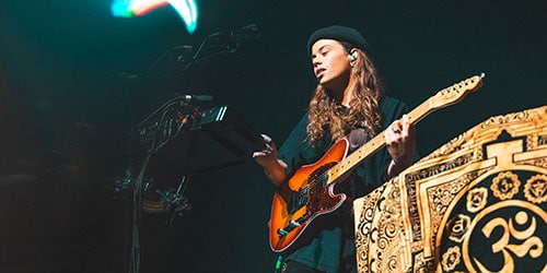 Tash Sultana Performs at Palace, St. Paul