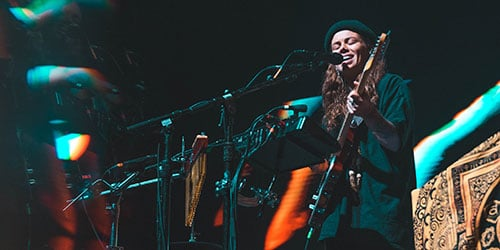 Tash Sultana Performing Live