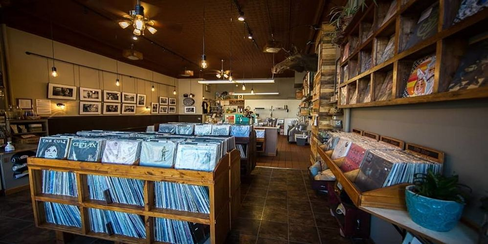 Caydence records and coffee in east St. Paul