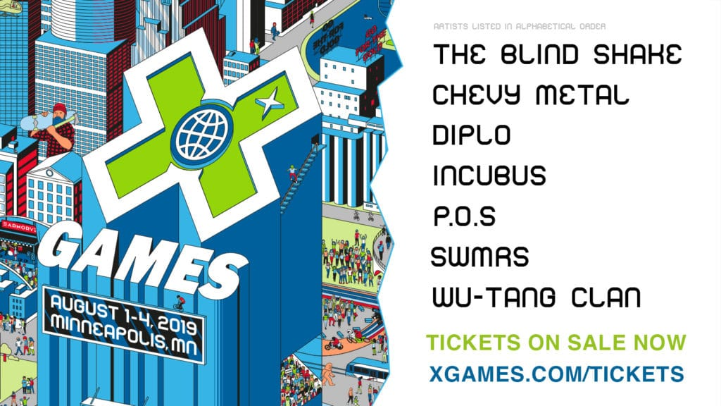 X Games Minneapolis Music In Minnesota POS Diplo WuTang Clan