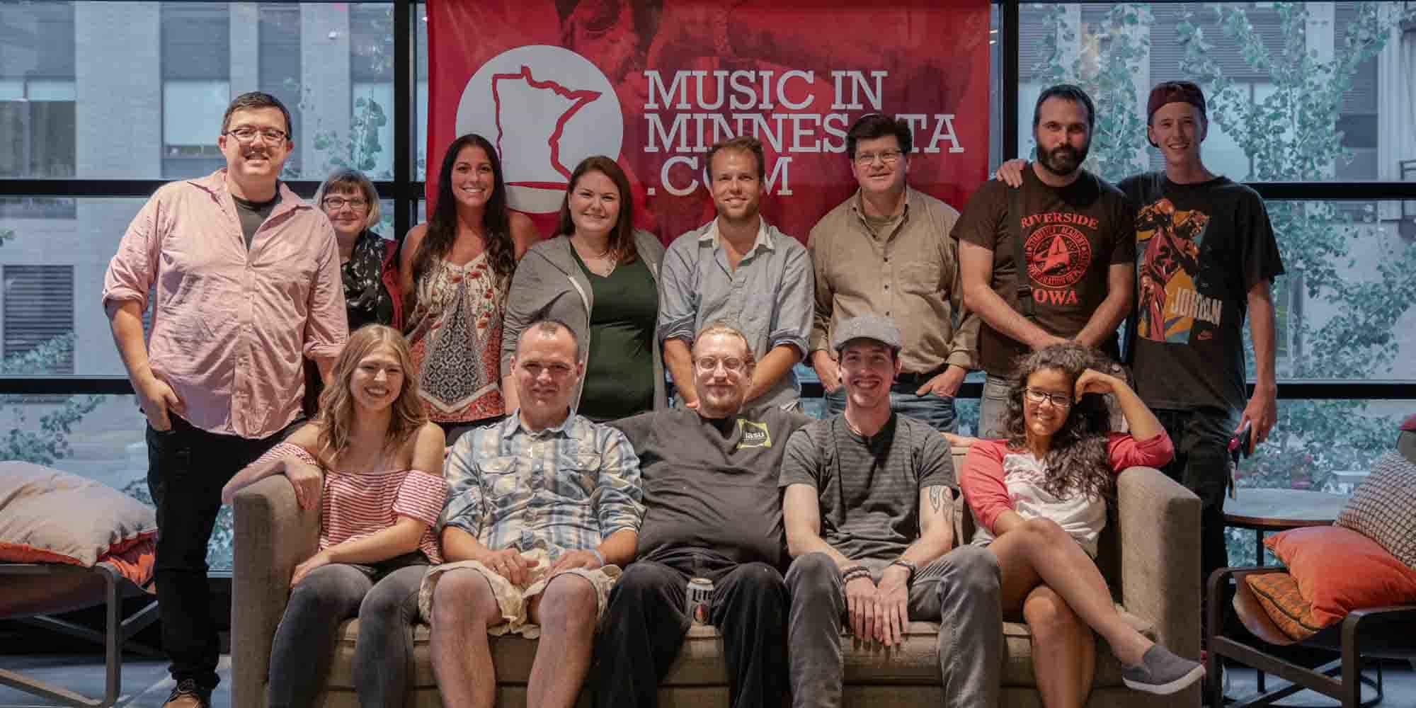 Music In Minnesota Team Photo 2018