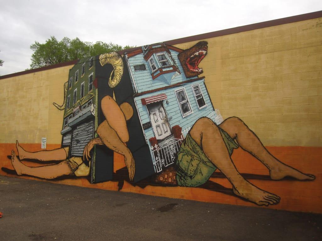 Broken Crow & OverUnder Mural