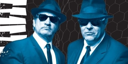 The Blues Brothers. From the Treasure Island Facebook page.