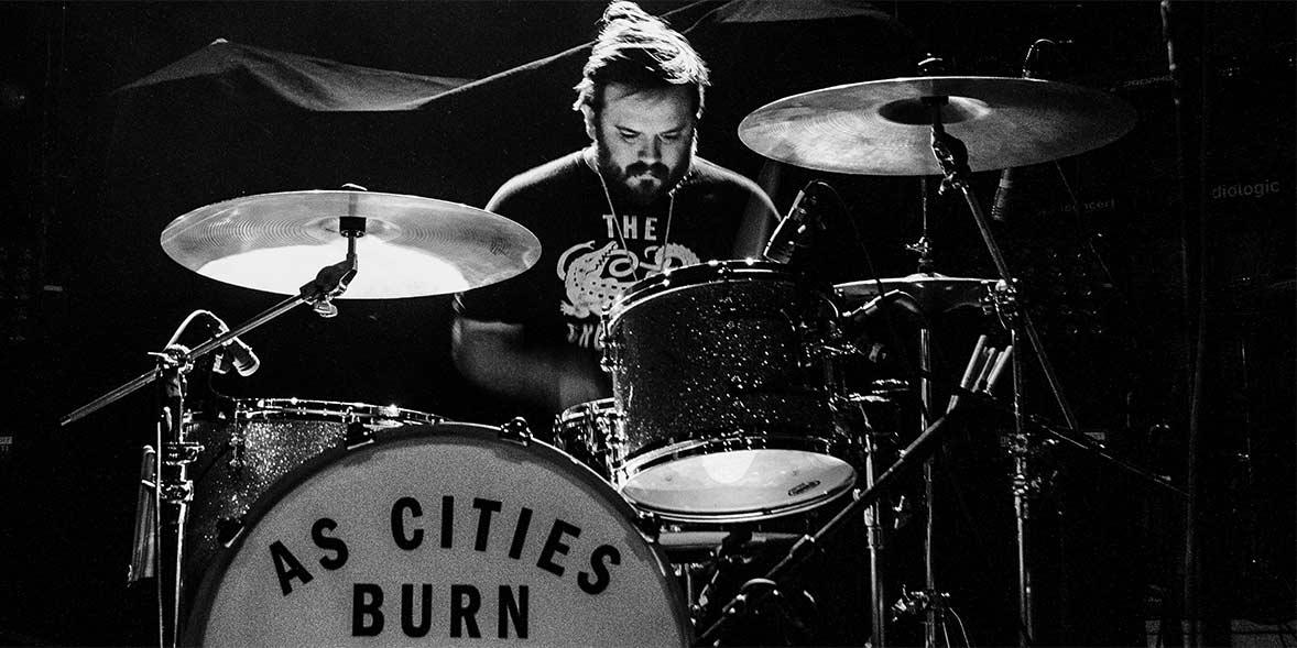 Aaron Lunsford of As Cities Burn When Broken is Easily Fixed 15 year anniversary tour varsity theatre Minneapolis Minnesota January 19 2019