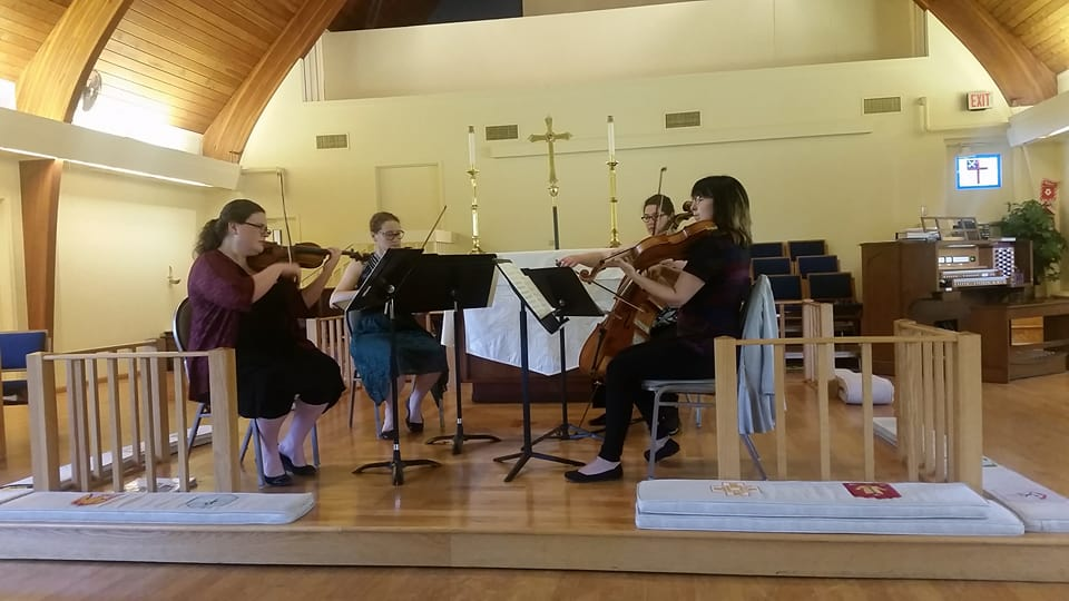 Mill City String Quartet promo