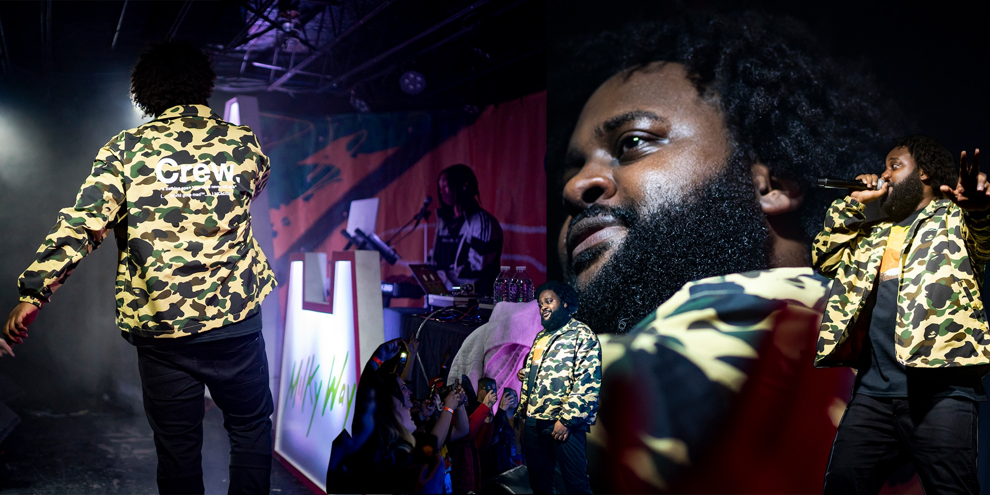Bas Live Performance