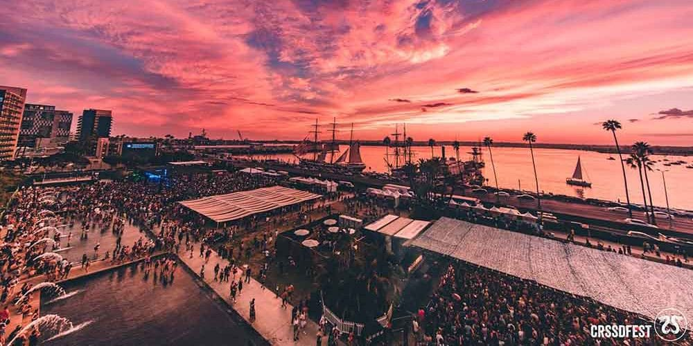 CRSSD 2018 Sunset - Photo Courtesy of CRSSD Story from Music In Minnesota