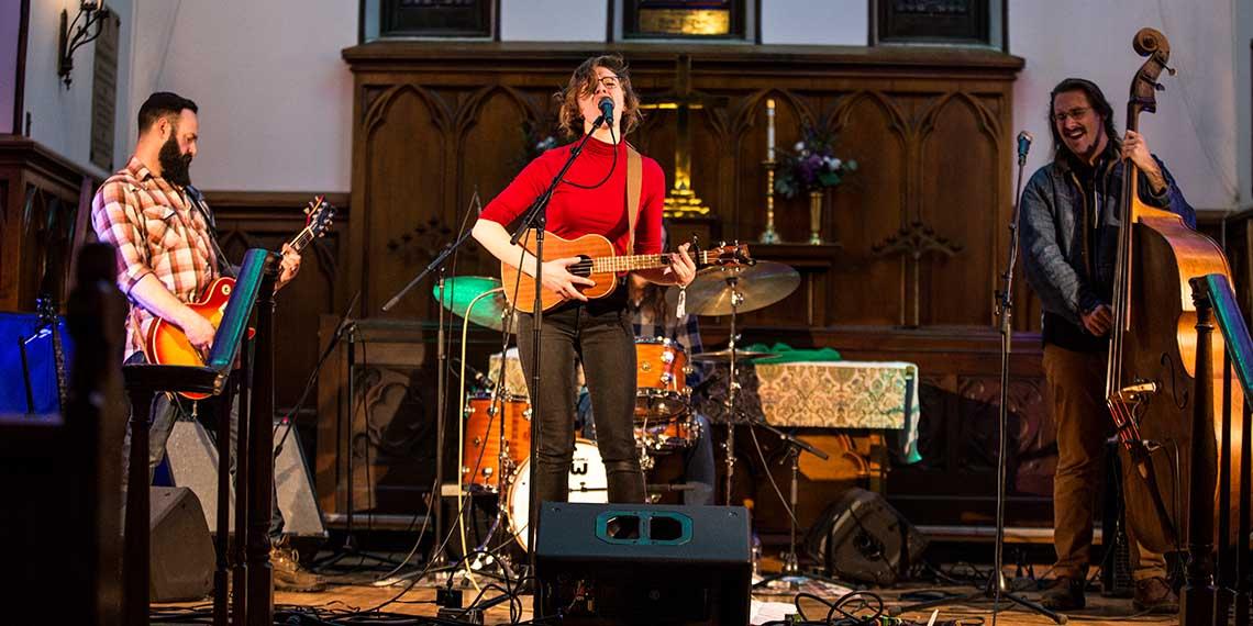 Lena Elizabeth, Big Turn, Big Turn Music Fest, Red Wing, Christ Episcopal Church, Folk, Americana, Soul, Local Music, Minnesota