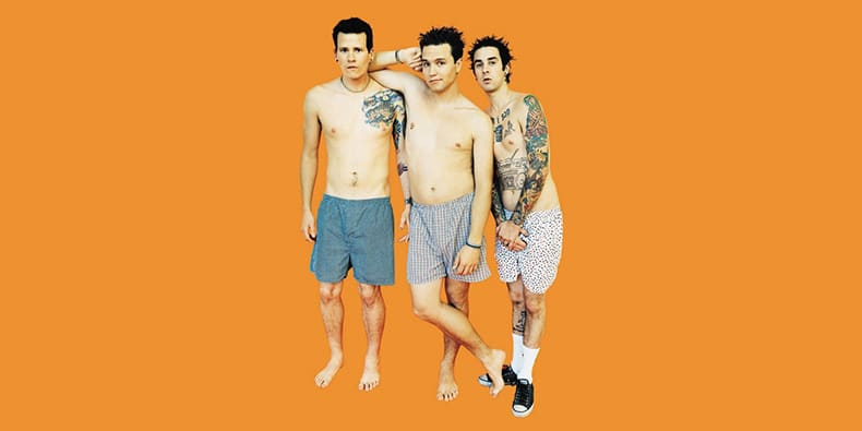 Nude Naked Funny Weird Band Tom DeLonge, Mark Hoppus, Travis Barker