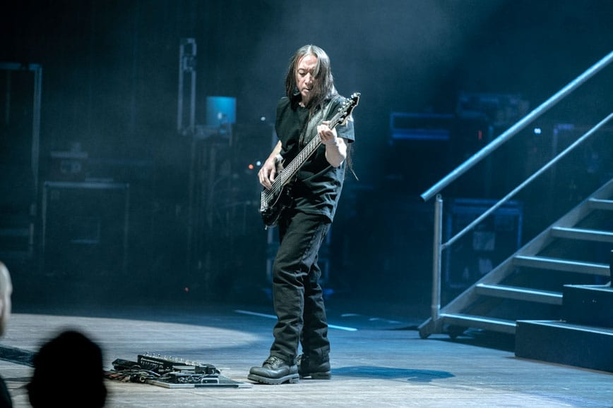 John Myung of Dream Theater - Photo by Chris Taylor Local Concert Ordway Minneapolis Minnesota St. Paul Review